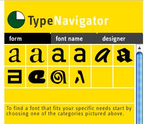 TypeNavigator Screenshot