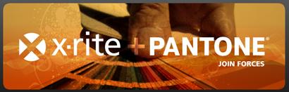 x-rite + Pantone