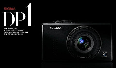 Sigma DP1 Full Size Sensor Point and Shoot
