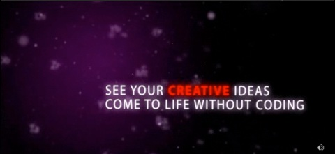 Screenshot from Adobe Labs Flash Catalyst intro movie.