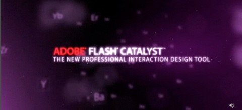 Adobe Catalyst title screen capture.